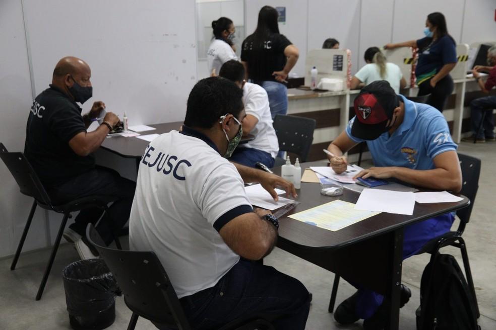 Atendimento no PAC em Manaus — Foto: Divulgação
