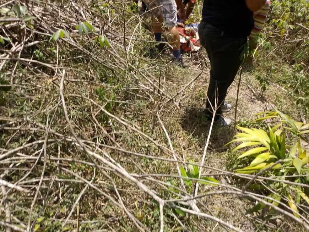 Nas proximidades de um igarapé foi encontrado Lucinaldo Mousinho em Óbidos — Foto: Reprodução/Redes Sociais