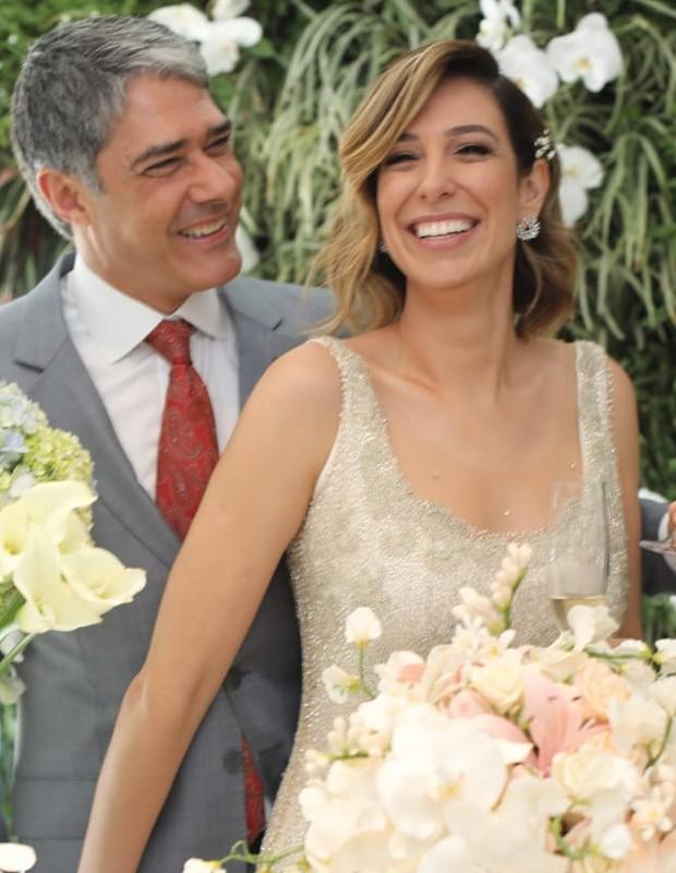 William Bonner e Natasha Dantas celebram 1 mês do casamento (Foto: Instagram/Reprodução)