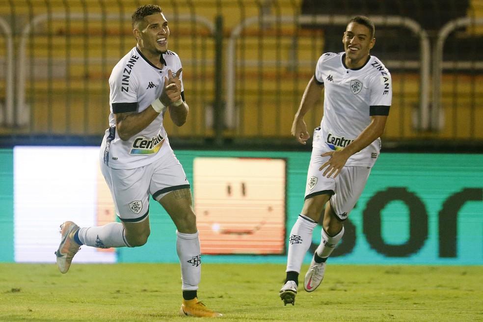 Rafael Navarro e Felipe Ferreira fizeram os gols do Botafogo contra o Volta Redonda — Foto: Vitor Silva/Botafogo