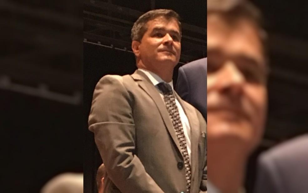 Odair José Soares, novo delegado-geral da Polícia Civil de Goiás — Foto: Silvio Túlio/G1
