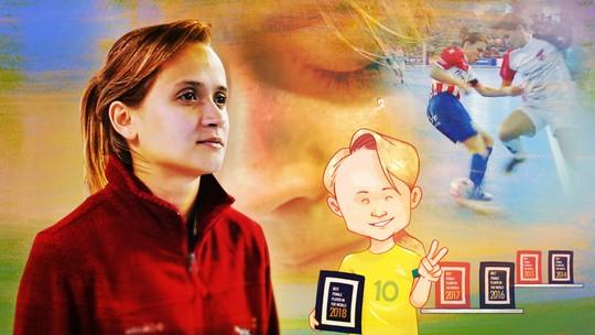 Grupo Globo exibe documentário sobre a melhor jogadora de futsal do mundo, Amandinha