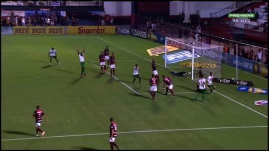 Andrey elege defesa final como a mais difícil e divide méritos de vitória do Sampaio