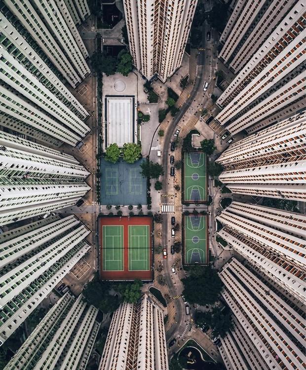 Concurso internacional de fotografia com drone (Foto: Gary Cummins/Reprodução)