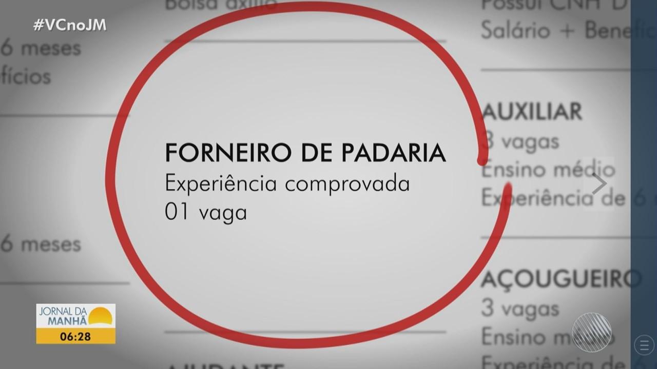 SineBahia divulga vagas de emprego para Salvador e região; confira