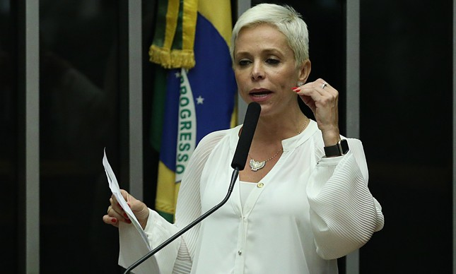 A deputada Cristiane Brasil (PTB-RJ)