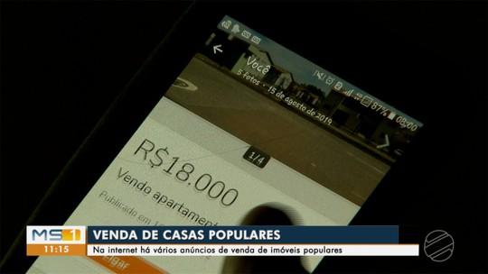 Apesar de irregular, venda de casas populares é comum na internet