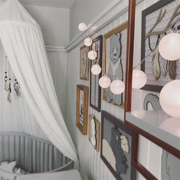 O quarto do filho de Isis Valverde (Foto: Instagram)