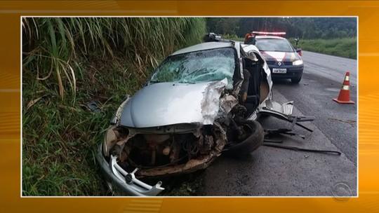 Sete morrem em acidentes no fim de semana em rodovias de SC