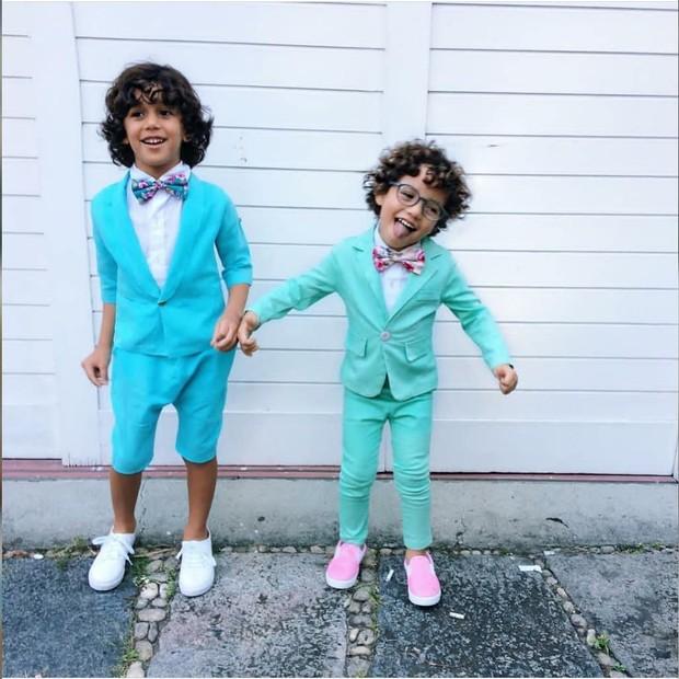 Os pajens do casamento de Whindersson Nunes e Luisa Sonza (Foto: Reprodução/Instagram)