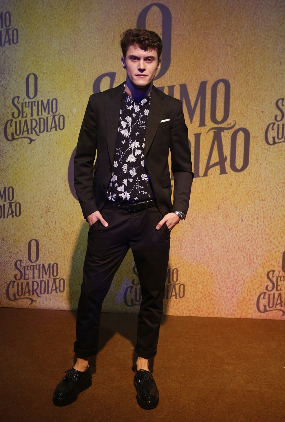 Eduardo Speroni vive Bebeto, filho da personagem de Carolina Dieckmann — Foto: Fabiano Battaglin/Gshow