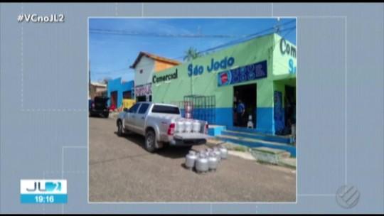 Pontos de venda clandestina de gás são fechados em operações no Pará