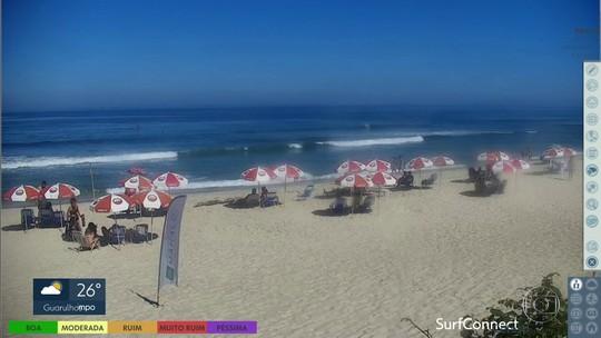 Primeiro fim de semana das férias tem Sol, calor e nada de chuva nas praias de SP