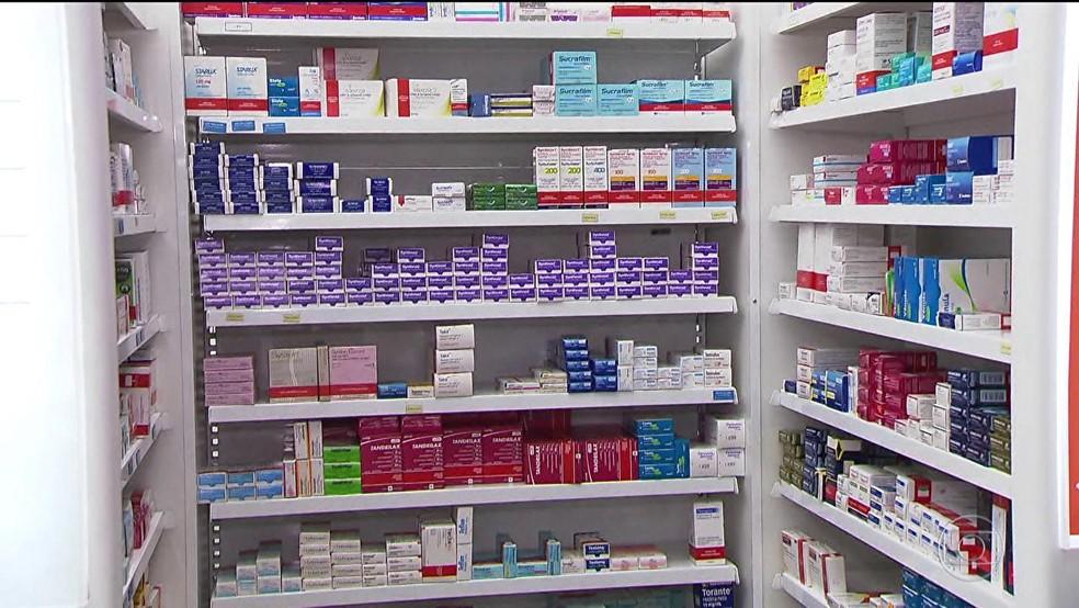 Medicamentos devem ter rejuste de até 2,8% (Foto: Reprodução/TV Globo)