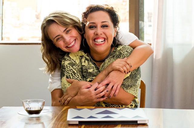 Juliana Silveira e Evelyn Castro em 'Matches' (Foto: Mariana Vianna)