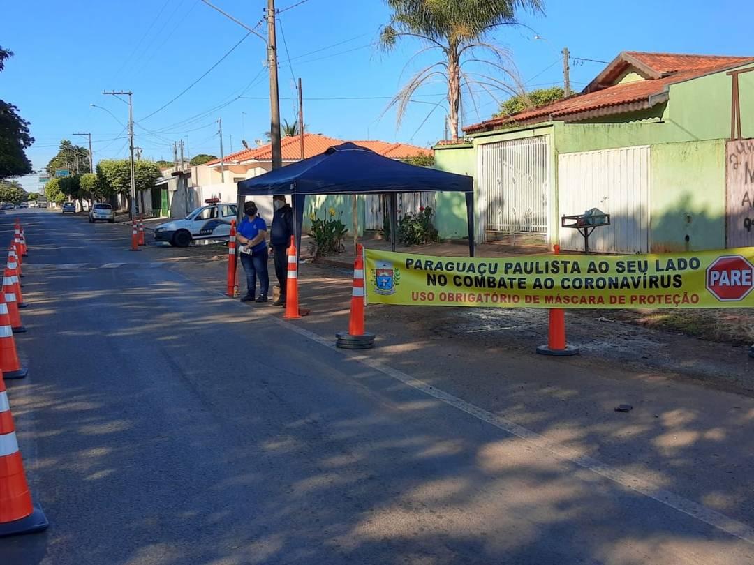 Paraguaçu Paulista estreia barreiras móveis de fiscalização contra a Covid-19