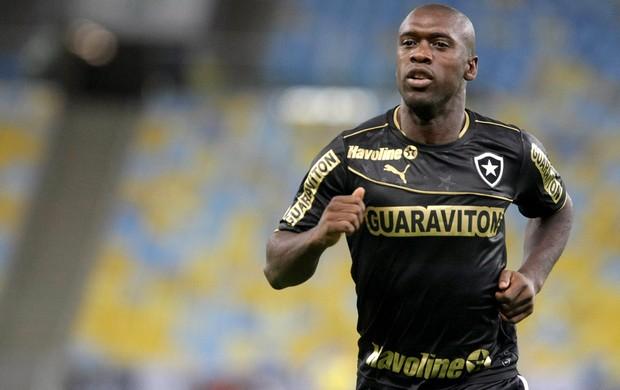 Seedorf jogo Botafogo contra Ponte Preta (Foto: Nina Lima / Agência O Globo)