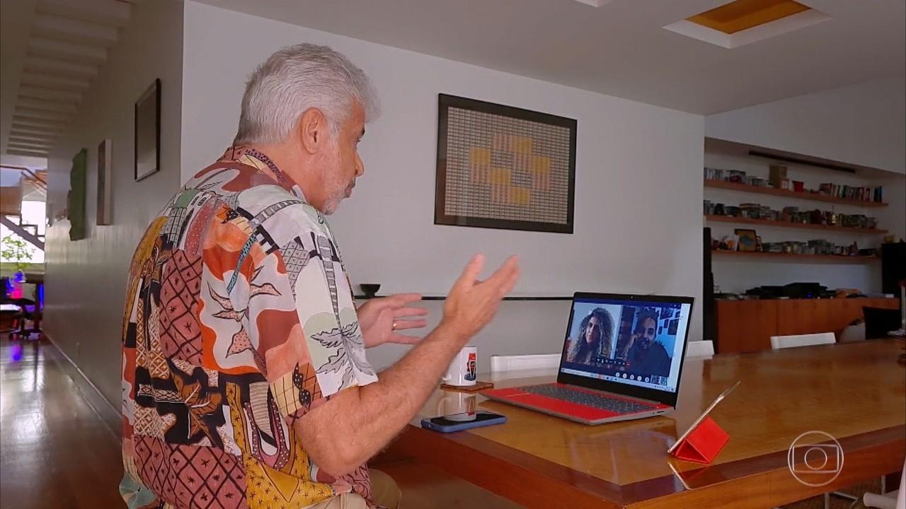 Lulu conversa com Nathalia Barreto e Rick Santos