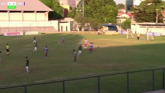 Com três gols em quatro minutos, time sub-17 do Altos faz 7 a 1 com direito a golaço no ângulo; assista