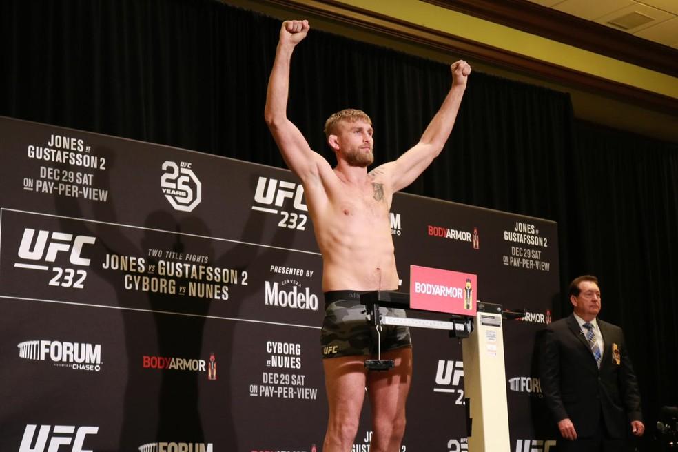 Alexander Gustafsson não teve problemas em confirmar presença na luta principal do UFC 232 — Foto: Adriano Albuquerque