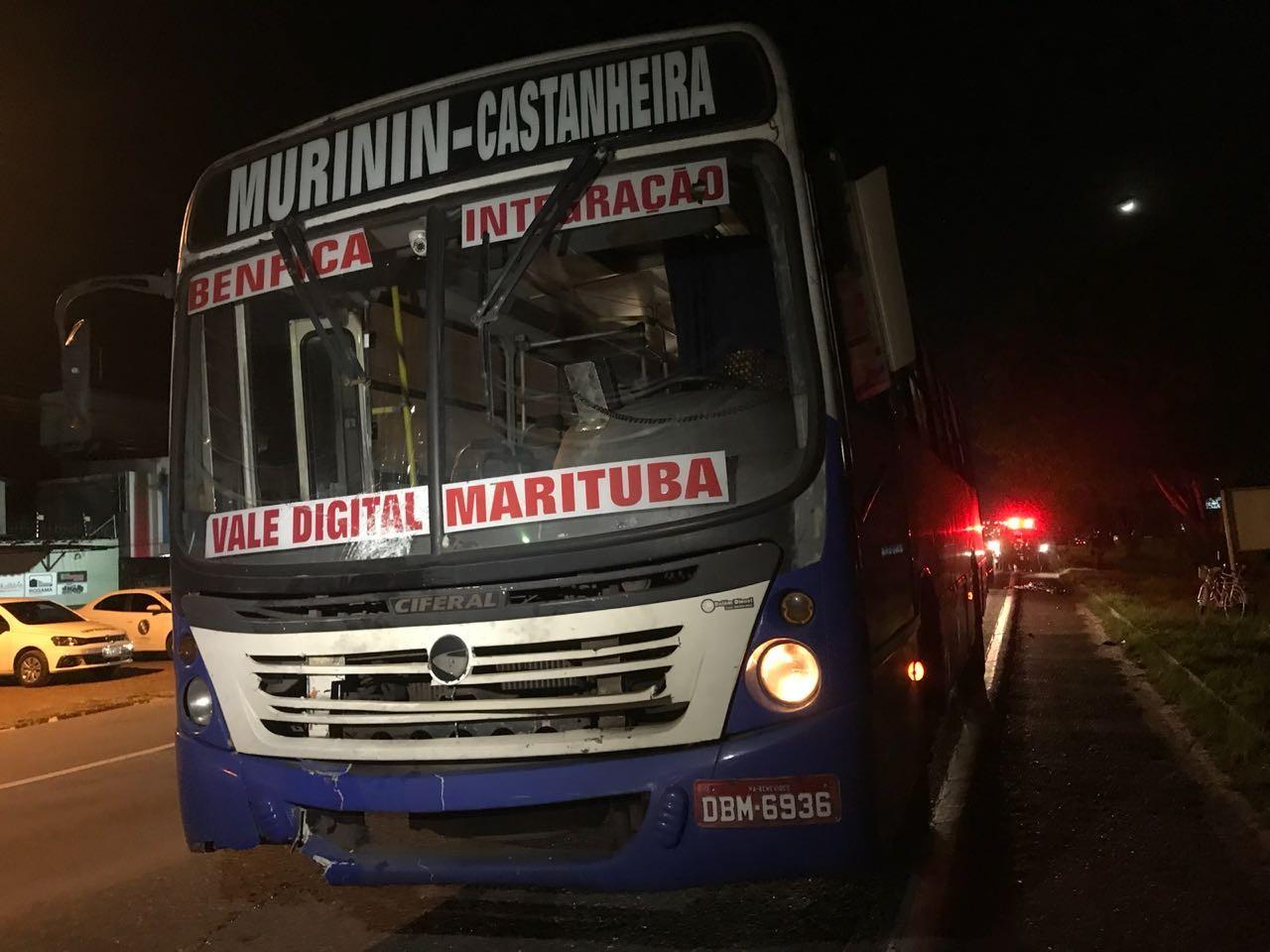 Homem morre atropelado por ônibus ao tentar atravessar a BR-316 em Marituba