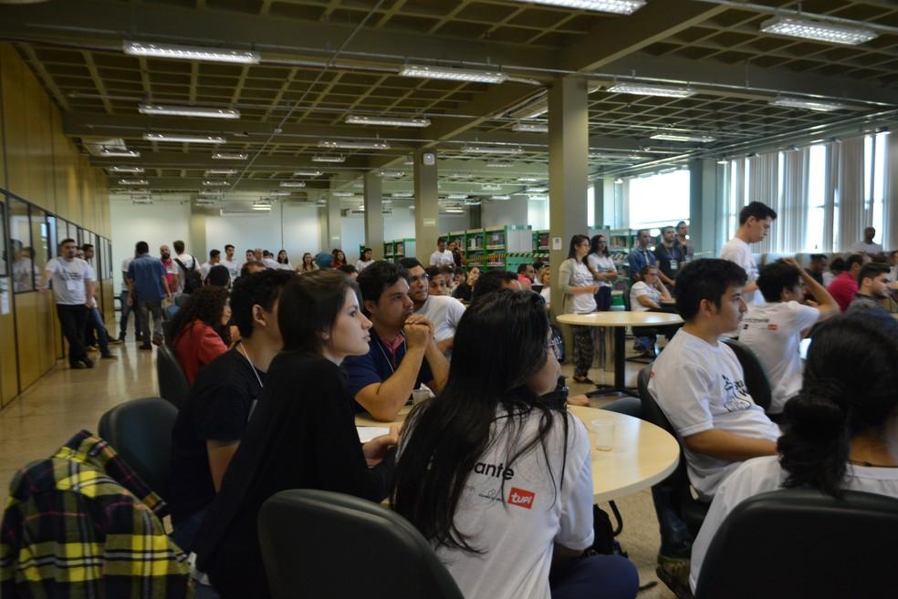 -  Startup Weekend Porto Velho; BNDES procura startpus para investir  Foto: Hosana Morais/G1