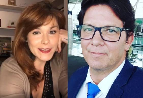 Samara Felippo e Mario Frias (Foto: Reprodução)