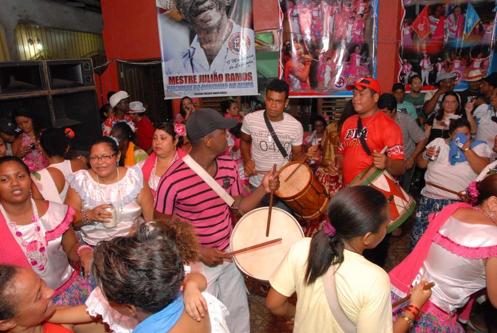 Ciclo do Marabaixo é uma das oportunidades de ver a programação de marabaixo em Macapá — Foto: Gabriel Penha/Arquivo G1