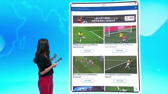 Golaço de Coutinho concorre a mais bonito da Copa em eleição da Fifa