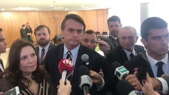 'Não pode levar um ano para aprovar uma reforma', diz Bolsonaro sobre Previdência