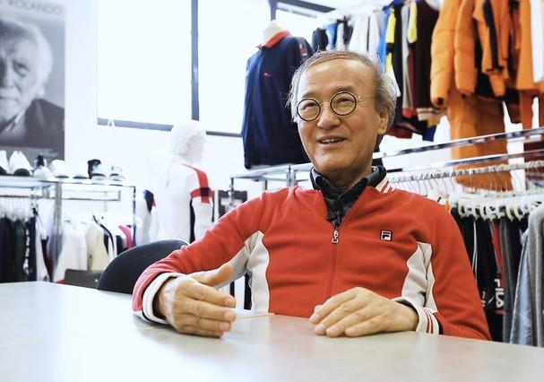 Gene Yoo, Global Chairman da FILA (Foto: Divulgação)