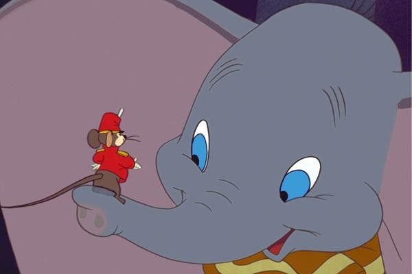 Cena do filme 'Dumbo' de 1941 (Foto: Divulgação)