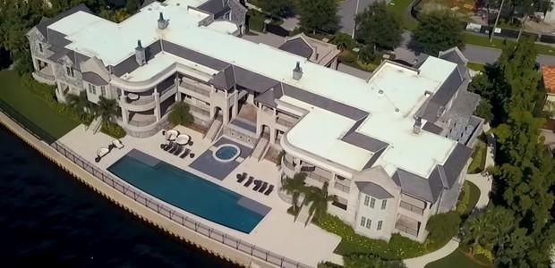 Novo lar de Tom Brady e Gisele Bündchen (Foto: Reprodução/YouTube)