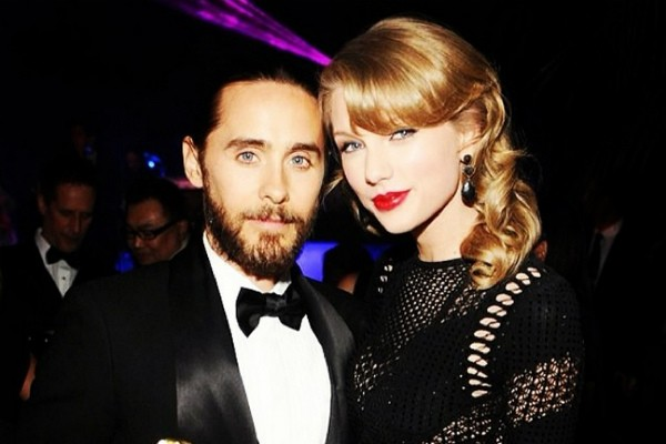 Jared Leto e Taylor Swift (Foto: Instagram)