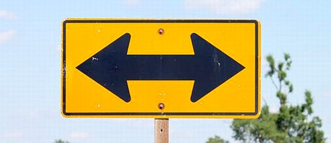 Esquerda e direita (Foto: Arquivo Google)