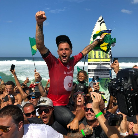 O surfista Filipe Toledo (Foto: Divulgacao/Canal Woohoo)