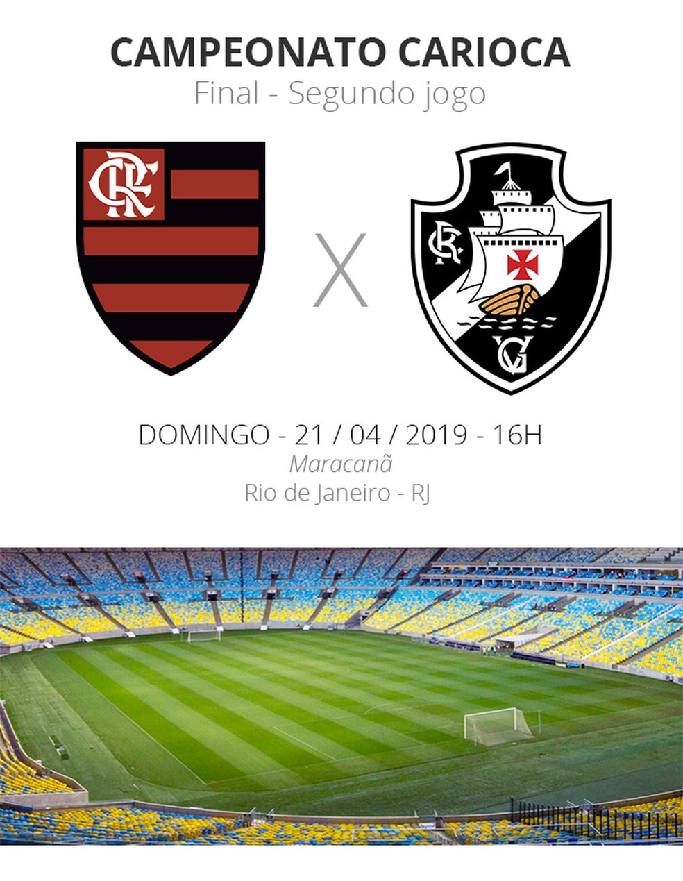 Ficha Flamengo x Vasco — Foto: Infoesporte/GloboEsporte.com