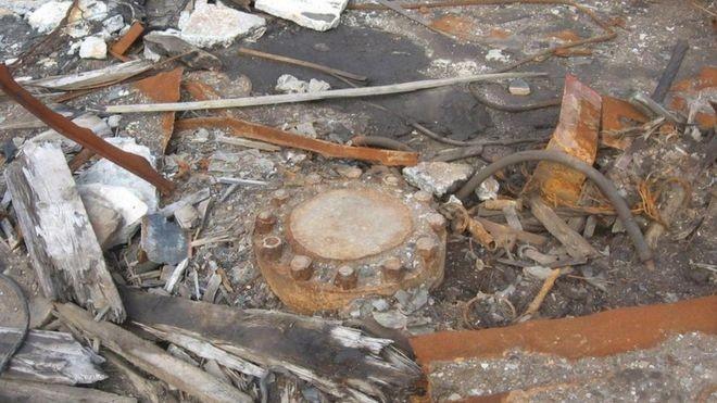 O poço ainda existe, mas está lacrado (Foto: RAKOT13/CC BY-SA 3.0/BBC)