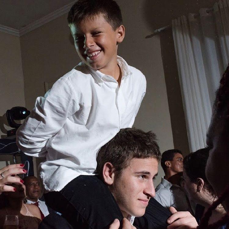 Davi e José, filhos de Carolina Dieckmann (Foto: Reprodução/Instagram)