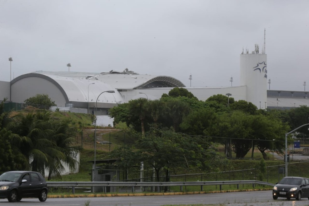 Segundo a Fraport, foram tomadas as ações necessárias para garantir a segurança no Aeroporto de Fortaleza — Foto: Helene Santos/SVM