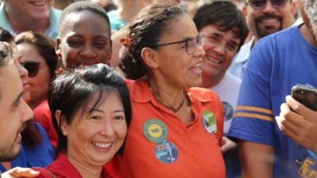 Marina Silva (Rede) foi praticamente ignorada por seus adversários nas redes sociais (Foto: Divulgação)