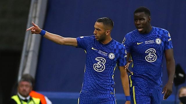 Chelsea x Villarreal gol Ziyech Supercopa da Europa