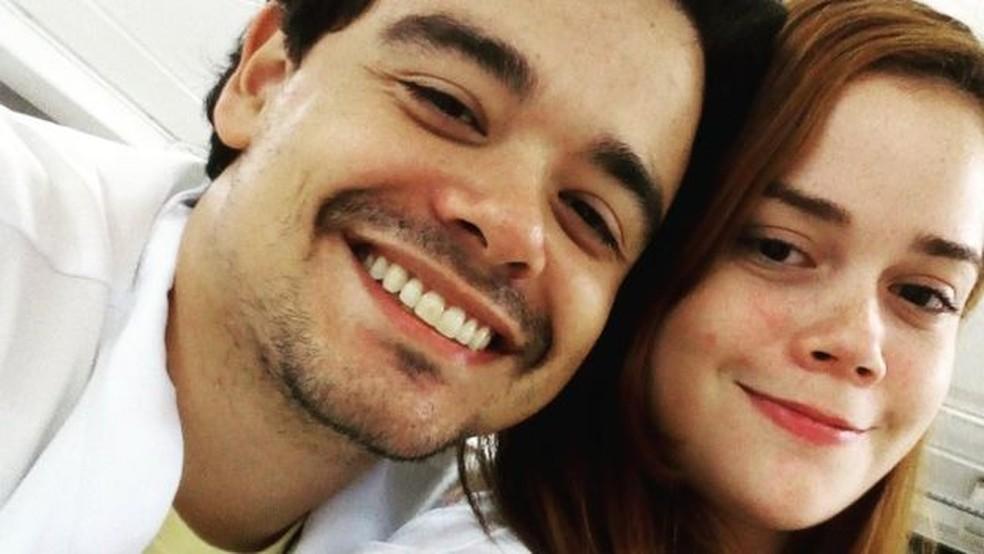 Suzane e o namorado — Foto: Arquivo Pessoal