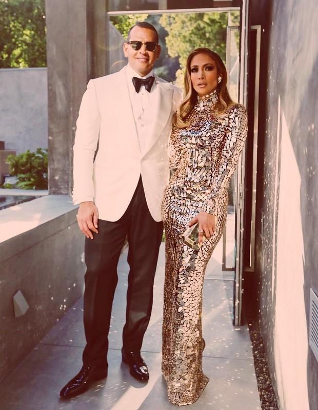 Jennifer Lopez e Alex Rodriguez (Foto: Reprodução/Instagram)