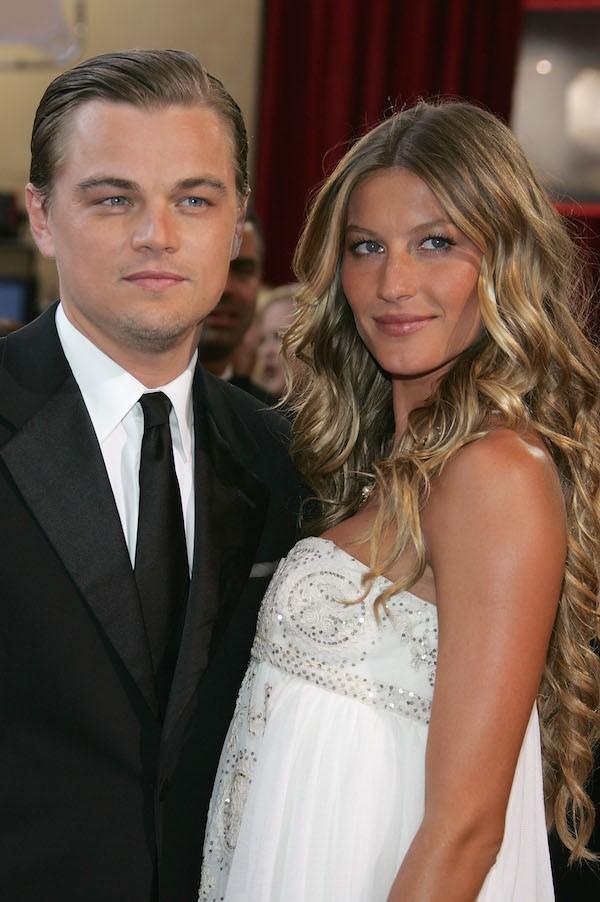 O ator Leonardo DiCaprio com a modelo Gisele Bundchen (Foto: Getty Images)