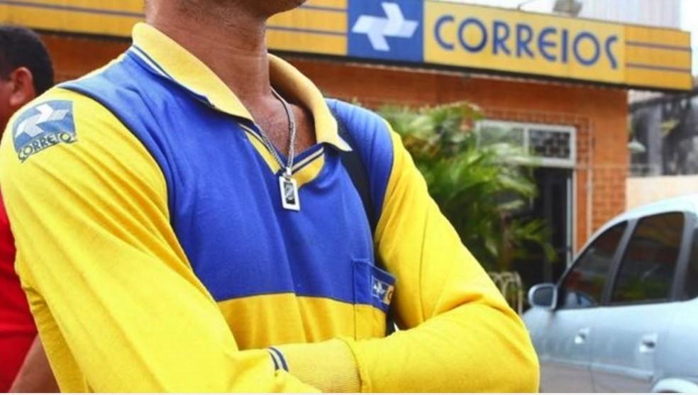 -  Greve atingiu, principalmente, os carteiros; vários do país paralisaram os trabalhos  Foto: Fernando Estevão/ TV Gazeta