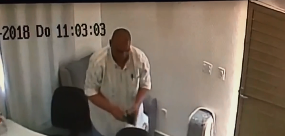 Homem furta dentro de igreja no Riacho Fundo I (Foto: Reprodução)