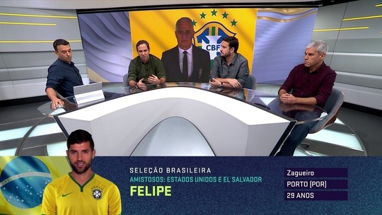 Seleção SporTV discute novidades na lista de Tite para amistosos