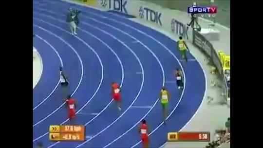 Bolt 9s58: jamaicano completa uma década como recordista mundial dos 100m