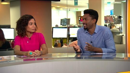 """Repórter Diego San fala sobre racismo: """"Tenho medo de falar tudo o que eu passo"""""""